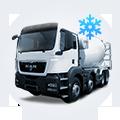 Купить зимние товарные бетоны от Ковальской с доставкой в Киеве