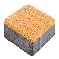 Брусчатка 10-10-6 оранжин фьюжн