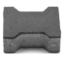 Двойное 3Т безфасочная 20-16-8 графит