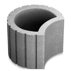 Клумба 34,5-20 серый